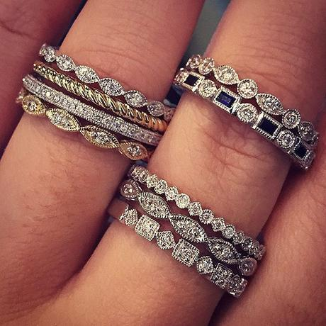 Gabriel NY stacking rings