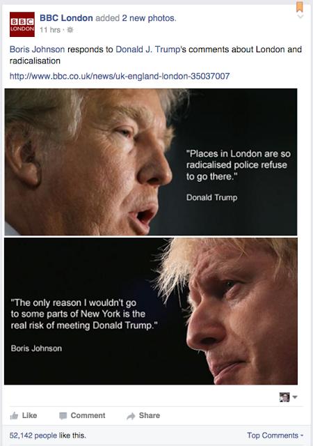 Future President v Future PM? #Trump #Boris #BorisvTrump