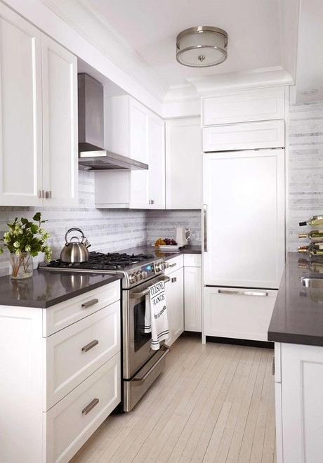 Before and After: A Drab NYC Apartment Gets a Mod Makeover via @domainehome: