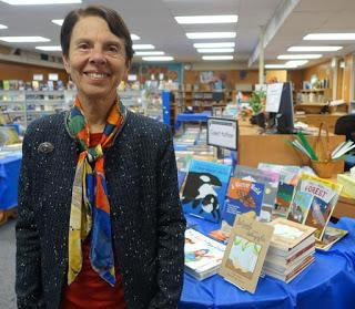 BOOK FAIR Author Visit at Hawthorne School, Beverly Hills, CA