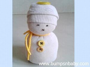 DIY Sock Snowman – Christmas Special