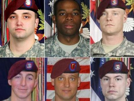 soldiers died looking for Bergdahl