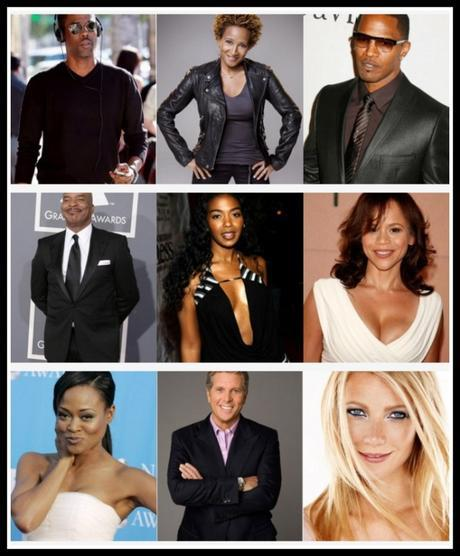 Amanda Sanders Celebrity Clients