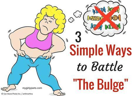 3 Simple Ways to Battle the Bulge