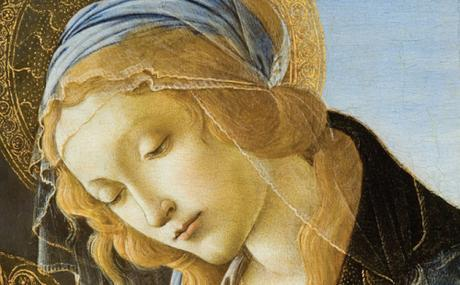 Virgin Mary by Botticelli