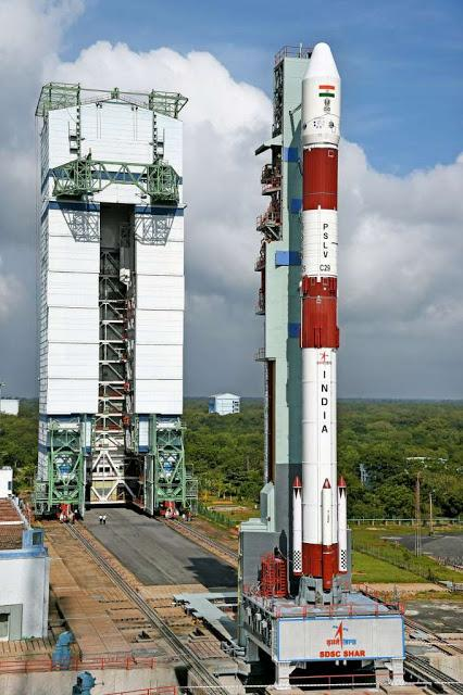 PSLV C 29 successfully puts 6 Singapore satellites in to orbit