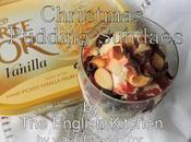 Christmas Pudding Sundaes