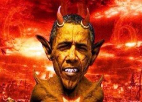 Egyptian newspaper Al Wafd 's portrayal of Obama as Satan