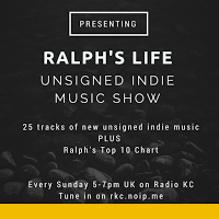 Ralph's Top 10 Blogged band Chart on Radio KC - 19.12.15