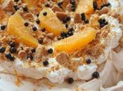 Orange Gingerbread Pavlova