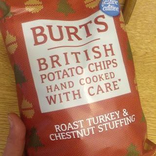 Burts Festive Roast Turkey & Chestnut Stuffing Crisps