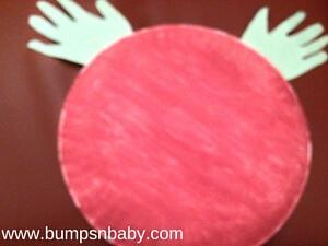 Paper Plate Reindeer DIY  for this Christmas