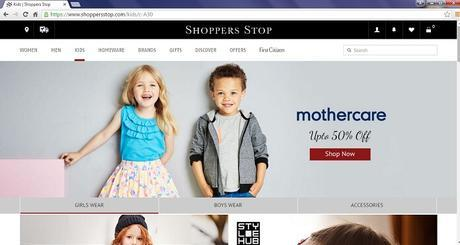 Christmas Shopping for Kids Made Stylish at Shoppers Stop
