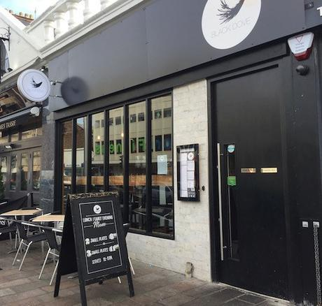 glasgow foodie explorers Black_Dove_Shawlands_outside