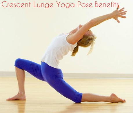 Power yoga tips for building stamina and losing weight paperblog crescent lunge yoga benefits ccuart Image collections