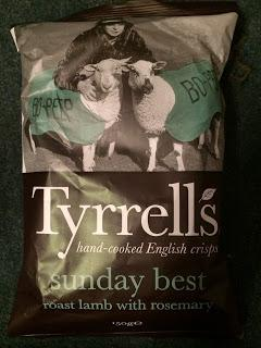 Today's Review: Tyrrell's Sunday Best Roast Lamb With Rosemary Crisps