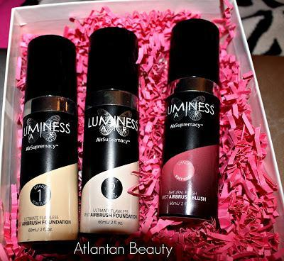 Luminess Air AirSupremacy Foundation and Blush Review (and Coupon Code)