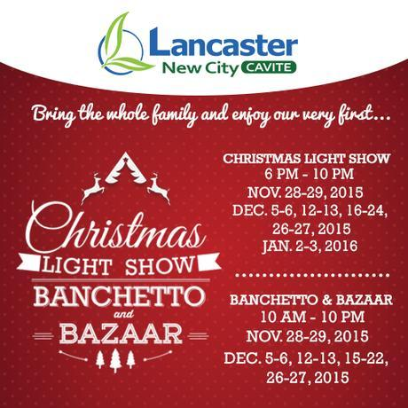 What Christmas Feels Like at Lancaster New City Cavite