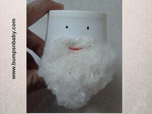Santa Claus DIY Using Paper Cup