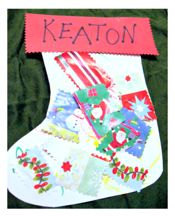 10 easy christmas crafts for toddlers paperblog for Christmas crafts for babies