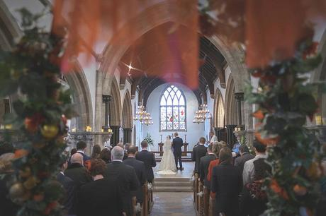Kingston Country Courtyard Christmas Wedding