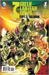Green Lantern Corps: Edge of Oblivion #1 Variant Cover