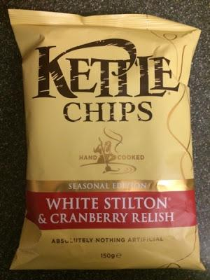 Today's Review: Kettle Chips White Stilton & Cranberry Relish