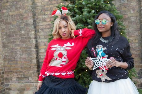 MERRY CHRISTMAS | UGLY CHRISTMAS SWEATER COLLABORATION