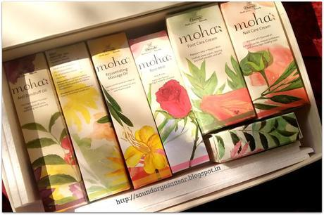 Moha Big Gift Box- perfect gift for winters! Contents-First Impressions!