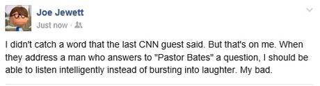 Joe pastor bates