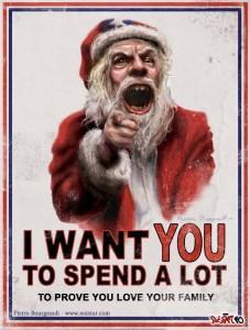 Santa Claus: The Salesman with Claws