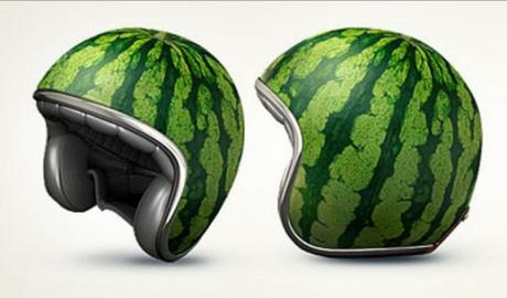 Watermelon Crash Helmet