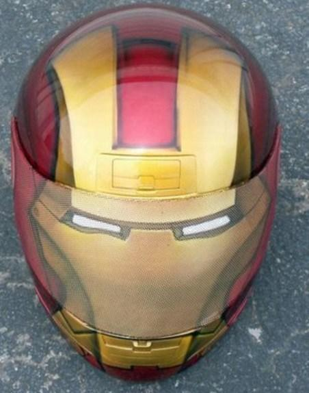 Ironman Crash Helmet