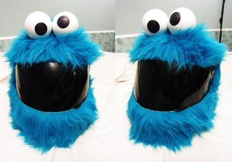 Cookie Monster Crash Helmet