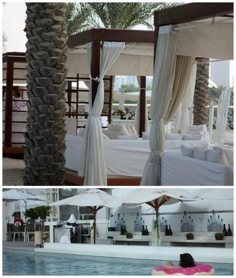 Eden Beach Club Dubai Cabanas