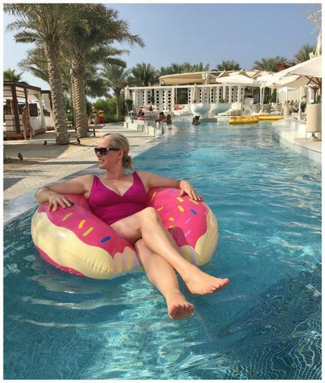 Eden beach club pool Dubai