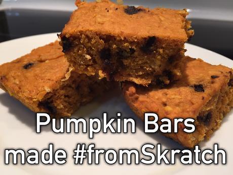 Pumpkin Bars #fromSkratch