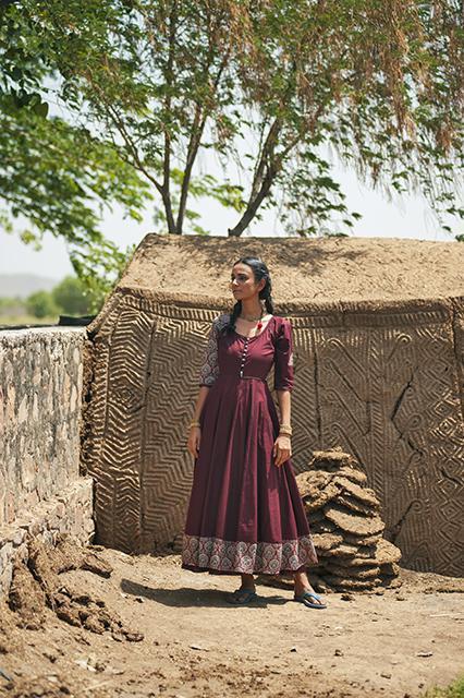 House Of Tuhina: This Winter, become a Gypsy with Bagru Banjara