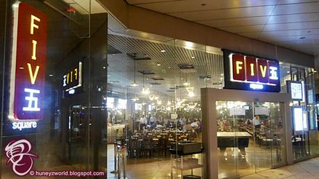 Chillax & Enjoy Good Food With The Self-Service Ordering System At Fiv五 Square