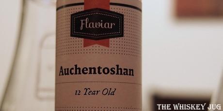 Auchentoshan 12 Years Label