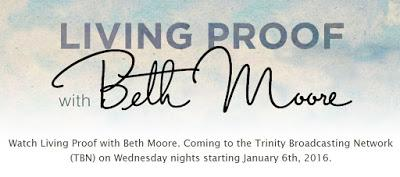 Beth Moore launching a new TV program on TBN