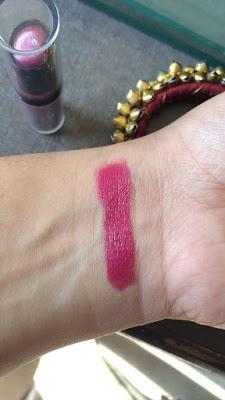 Revlon ColorStay Ultimate Seude Lipstick in WARDROBE Review, Swatches and FOTD