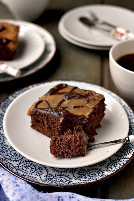 Chocolate cake using Sourdough Starter