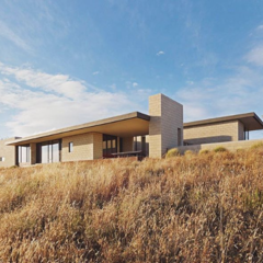 Photo of the Week: California Modern Home on an 80-Acre Farm