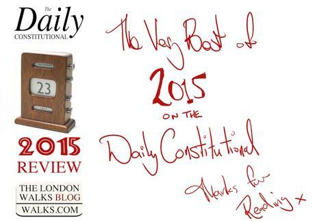 The Best of 2015 On The Daily Constitutional November: Don't Be Terrorized @RickSteves #London2015