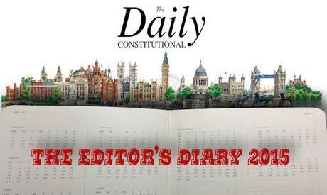 The Editor's #London Diary 2015: April