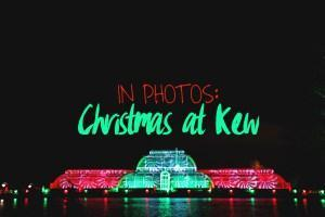 Christmas for Kew