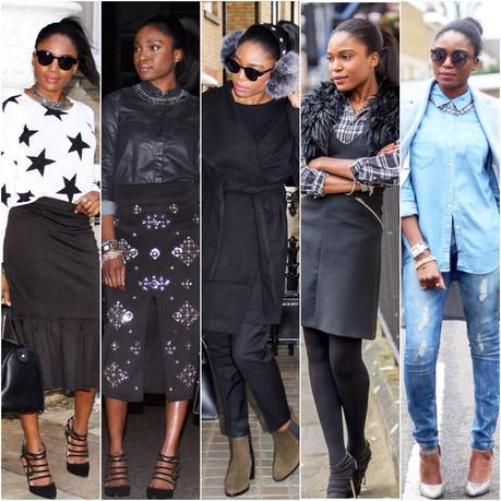 Today I'm Wearing: January 2015 Looks