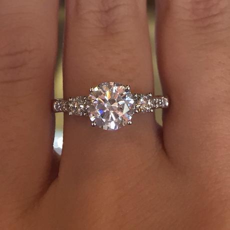 Verragio three stone ring