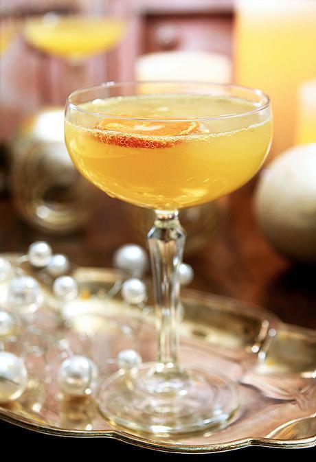 Grey Goose Fruits de Fête Champagne Cocktail